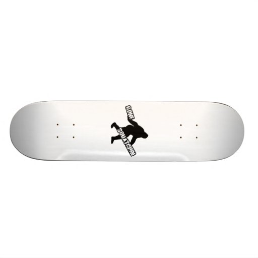 Gone Squatchin Custom Skate Board