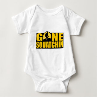 GONE SQUATCHIN *Special* BARK AT THE MOON edition Baby Bodysuit