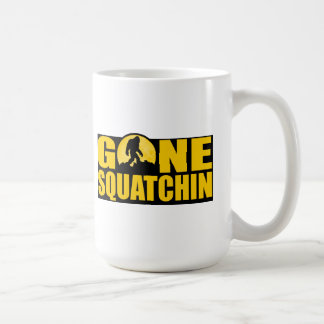 GONE SQUATCHIN *Special* BARK AT THE MOON edition Mugs