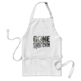 Gone Squatchin *Special Winter Edition* Aprons