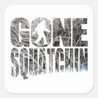 Gone Squatchin *Special Winter Edition* Square Sticker