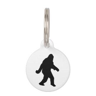 Gone Squatchin - Squatch Silhouette Pet ID Tag