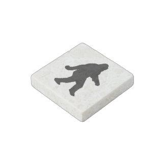 Gone Squatchin - Squatch Silhouette Stone Magnet