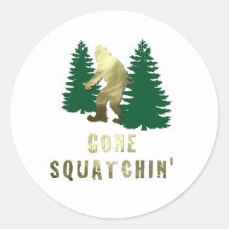 Gone Squatchin' Sticker
