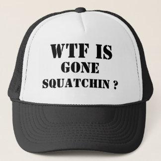 GONE SQUATCHIN TRUCKER HAT