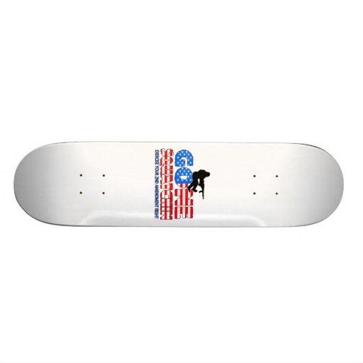 Gone Squatchin USA Skateboard Decks