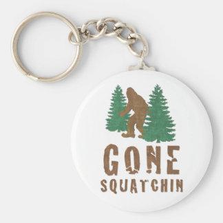 Gone Squatchin Vintage Keychains