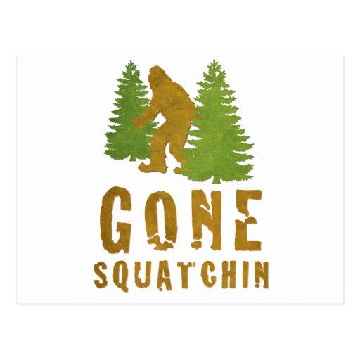 Gone Squatchin (Vintage) Post Cards
