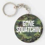 Gone Squatchin - White and Green woth Camo