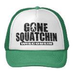Gone Squatchin WISCONSIN (distressed/worn) Hat