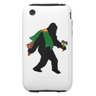 Gone  Squatchin' With Serape Tough iPhone 3 Case