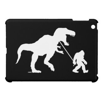 Gone Squatchin with T-rex Case For The iPad Mini