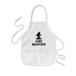 Gone Squatching, Finding Bigfoot, Squatch Kids Apron