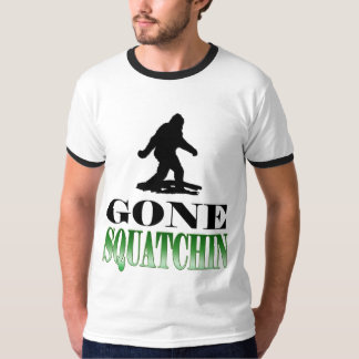 Gone Squatching, Finding Bigfoot Tees