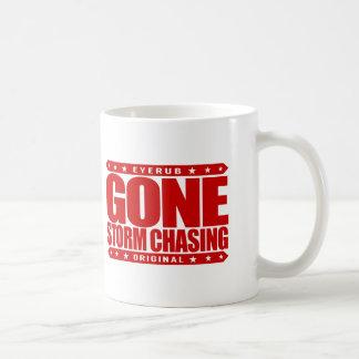 GONE STORM CHASING - Love Cyclone, Tornado Hunting Coffee Mug