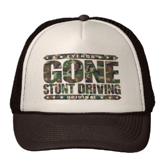 GONE STUNT DRIVING - I'm Perfect Video Game Driver Cap