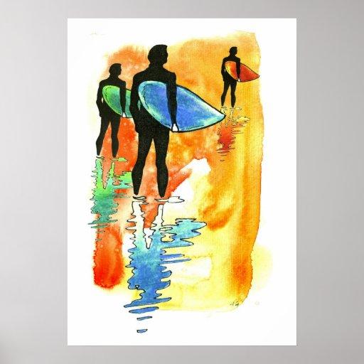 Gone Surfing v.2 Poster