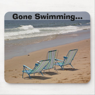 Gone Swimming... Mouse Pad