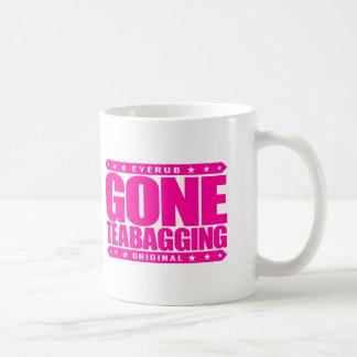 GONE TEABAGGING - Teabagged By Tea Party Movement Basic White Mug