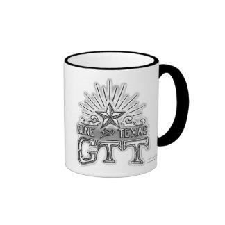 Gone to Texas Logo Ringer Mug