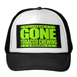 GONE TOBACCO CHEWING - I Love Mint Flavored Chew Cap
