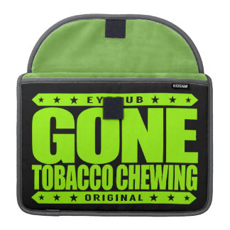GONE TOBACCO CHEWING - I Love Mint Flavored Chew Sleeves For MacBook Pro