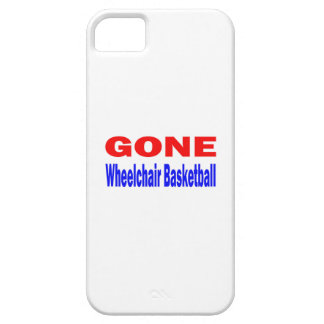 Gone Wheelchair basketball. iPhone 5 Cases