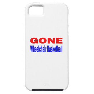 Gone Wheelchair basketball. iPhone 5 Cover