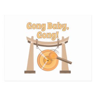 Gong Baby Postcard