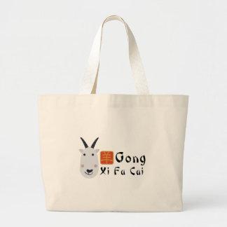 Gong Xi Fa Cai Jumbo Tote Bag