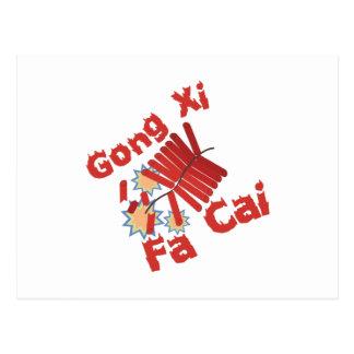 Gong Xi Fa Cai Postcard