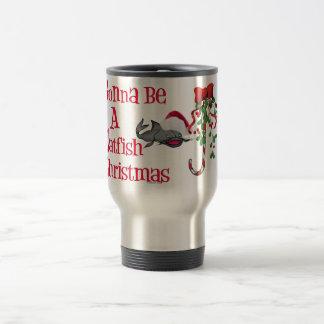 Gonna Be a Catfish Christmas Travel Mug