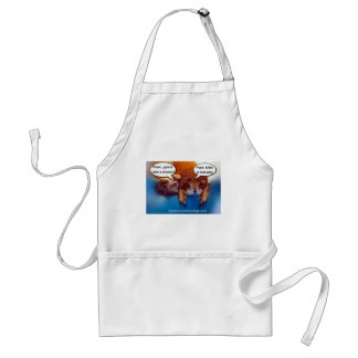 Gonna take a shower? adult apron