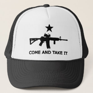 "Gonzales Flag AR15 ""Come and Take It"" Trucker Hat"