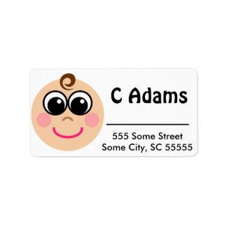 Goo Baby Address Label