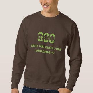 Goo fishing jumper sweatshirt