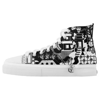 Goo Willow Sneaker Printed Shoes