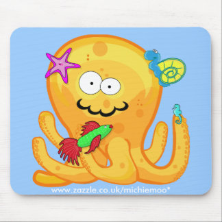 Goober Octopus & Friends Mousepad