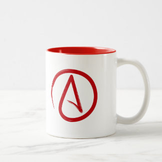 Good and better without god. (Righty) Two-Tone Mug