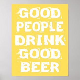 Good Beer Poster
