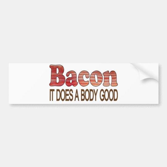 Good Body Bacon Bumper Sticker