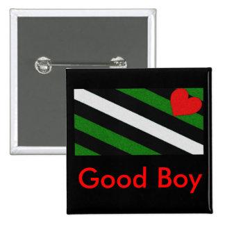 Good Boy 15 Cm Square Badge