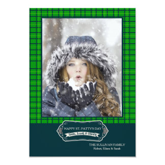 Good Cheer Photo St. Patrick's Day Card 13 Cm X 18 Cm Invitation Card