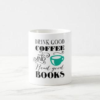 Good Coffee & Books Basic White Mug