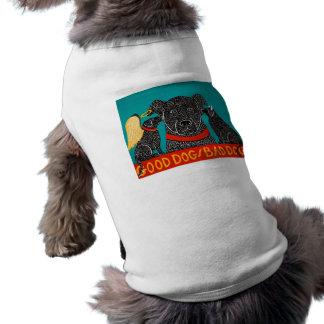 Good Dog Bad Dog Doggie T-shirt - Stephen Huneck
