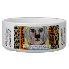 GOOD DOG BOWL- ONCE UPON THERE WAS AN AMAZING DOG