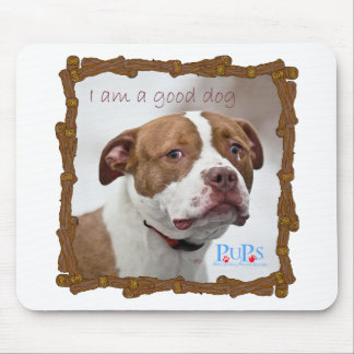 Good Dog Pit Bull Rescue Mousepad