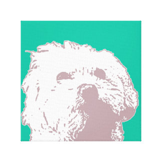 Good Doggy Stretched Canvas Print