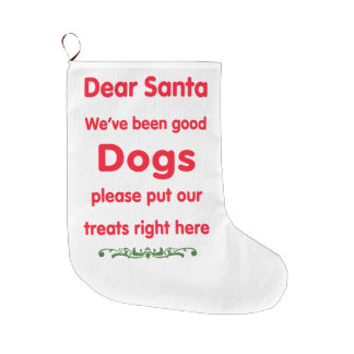 good dogs large christmas stocking