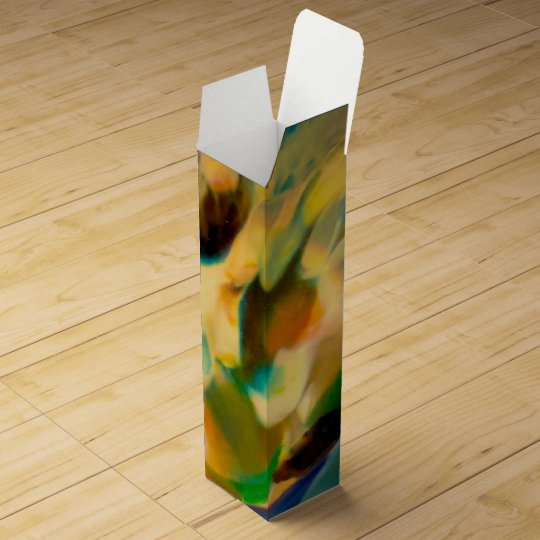 Good Earth Abstract Wine Bottle Box